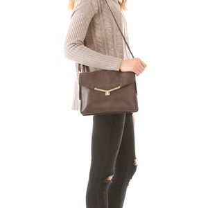 Botkier Valentina Shoulder Purse in Brown